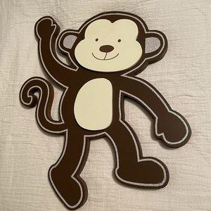 Wooden wall art Monkey
